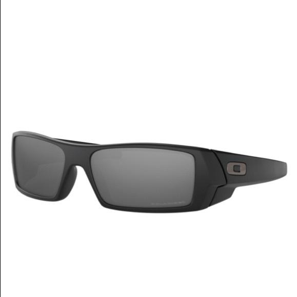 682b6a38b7 Oakley Polarized Gascan Sunglasses in Matte Black